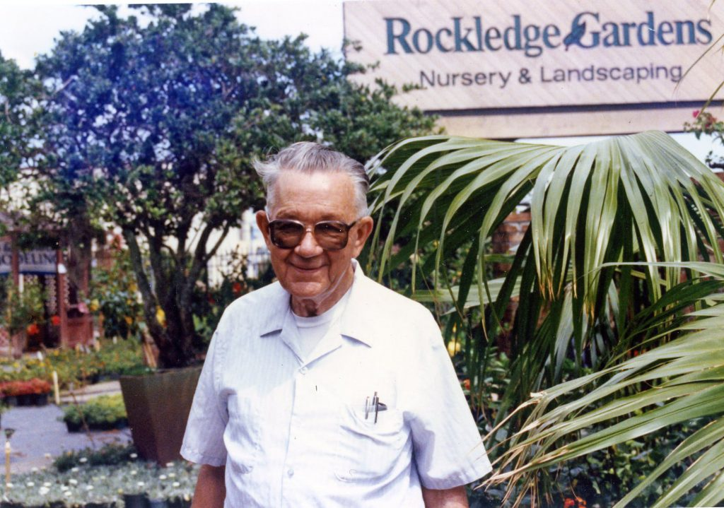 Harry Witte at Rockledge Gardens